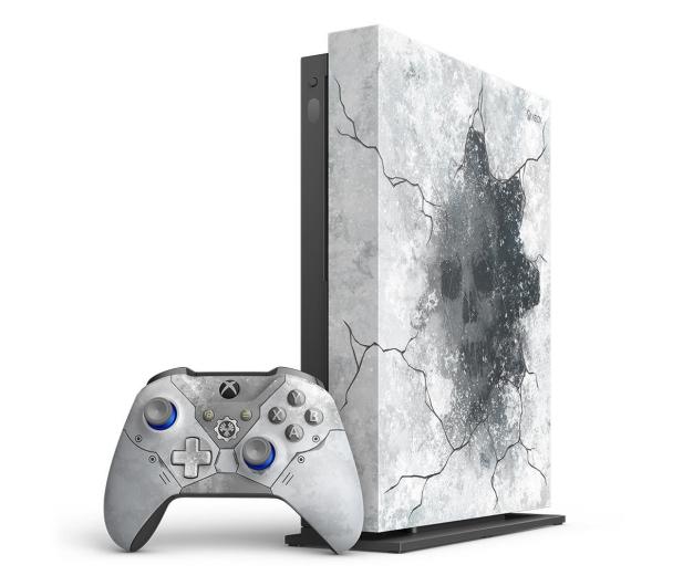 Microsoft Xbox One X 1TB Limited Ed. + GoW 5 + Fifa 20 - 518523 - zdjęcie 4