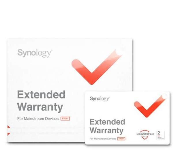Synology Rozszerzenie Gwarancji EW202 - 517290 - zdjęcie