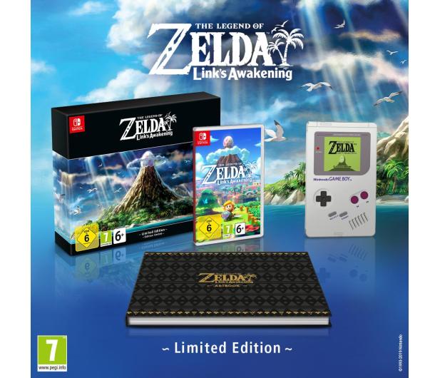 Nintendo The Legend of Zelda: Link's Awak. Lim. ed. - 516729 - zdjęcie 2