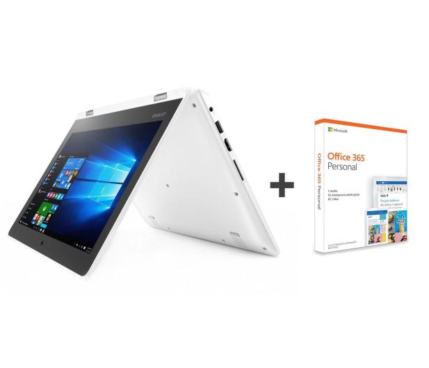 Lenovo YOGA 310-11 N3350/2GB/32/Win10 Dotyk Biały+Office - 388270 - zdjęcie