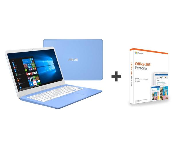 ASUS VivoBook E406MA N4000/4G/64/Win10+Office Niebieski - 508830 - zdjęcie