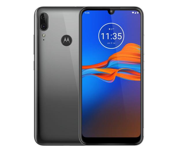 Motorola Moto E6 Plus 4/64GB Dual SIM grafitowy + etui - 518559 - zdjęcie