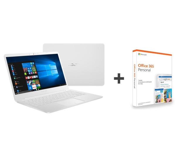 ASUS VivoBook E406MA N4000/4GB/64/Win10+Office Biały - 508829 - zdjęcie