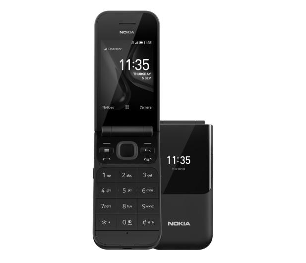 Nokia 2720 Flip Dual SIM Czarny - 518664 - zdjęcie