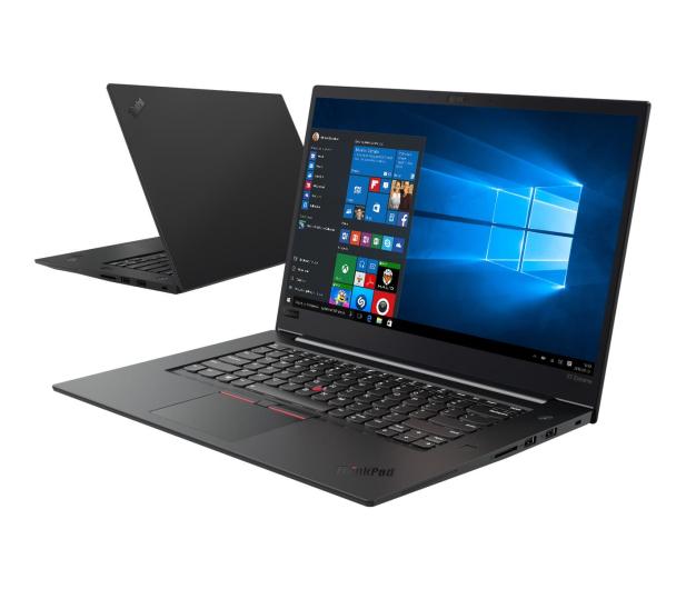 Lenovo ThinkPad X1 Extreme i5-9300H/8GB/256/Win10Pro - 526343 - zdjęcie