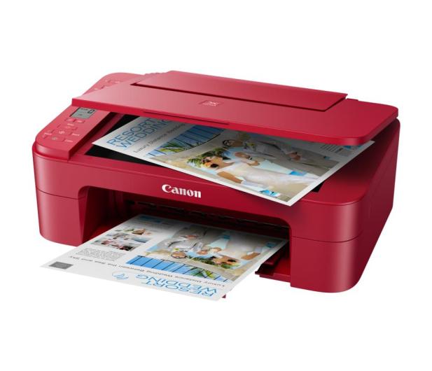 Canon PIXMA TS3352 czerwona - 517355 - zdjęcie 4