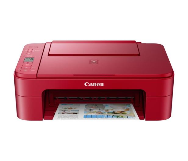 Canon PIXMA TS3352 czerwona - 517355 - zdjęcie 2