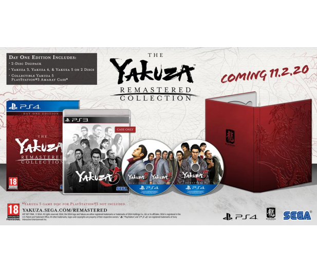 PlayStation The Yakuza Remastered Collection – Day 1 Edition - 513450 - zdjęcie 2