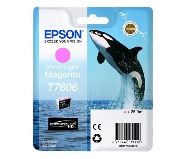 Epson T7606 vivid light magenta 25,9ml 2800str. - 248067 - zdjęcie
