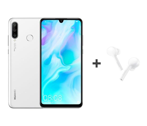 Huawei P30 Lite 128GB Biały + FreeBuds Lite białe  - 513702 - zdjęcie