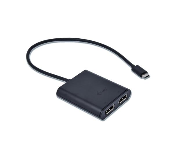 i-tec Adapter USB-C - 2x DisplayPort - 518368 - zdjęcie 2