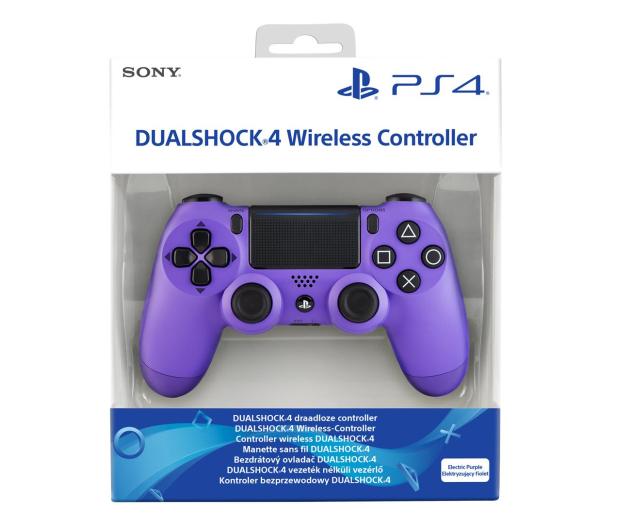 Sony PlayStation 4 DualShock 4 Electric Purple V2 - 513732 - zdjęcie 5