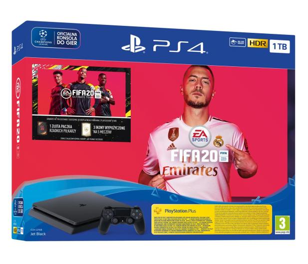 Sony PlayStation 4 Slim 1TB + FIFA 20 - 513738 - zdjęcie