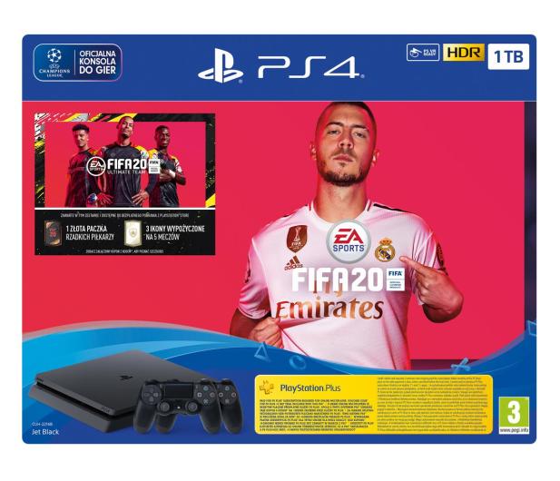 Sony PlayStation 4 Slim 1TB + FIFA 20 + Pad DS4 - 513739 - zdjęcie 6