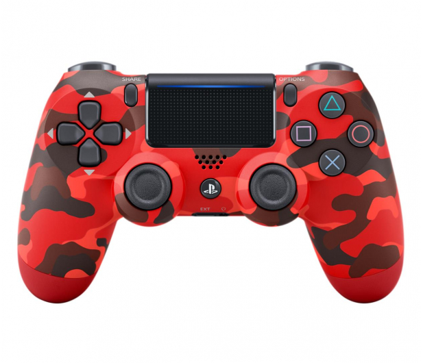 Sony PlayStation 4 DualShock 4 Red Camouflage V2 - 514253 - zdjęcie