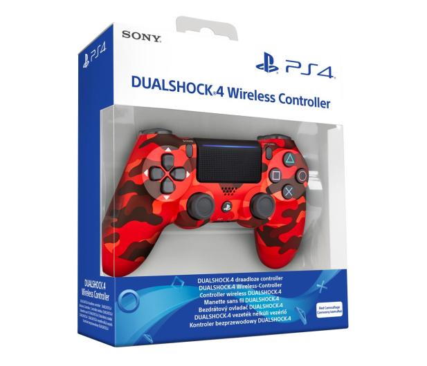 Sony PlayStation 4 DualShock 4 Red Camouflage V2 - 514253 - zdjęcie 6