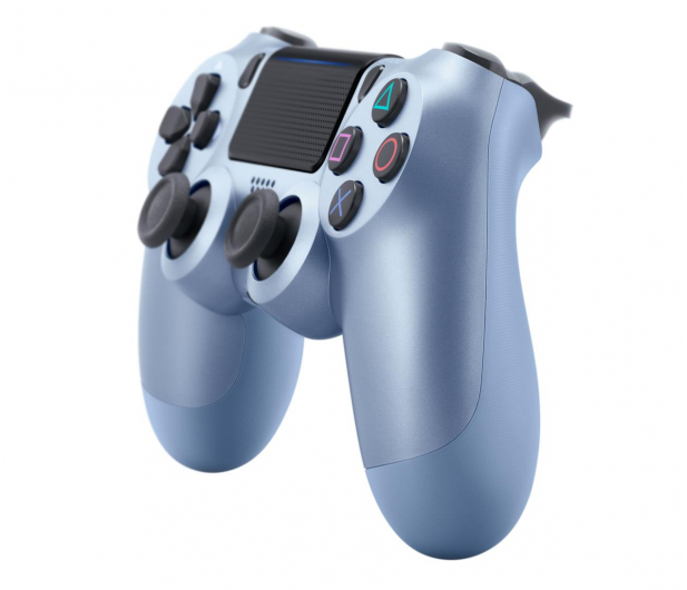Sony PlayStation 4 DualShock 4 Titanium Blue V2 - 514254 - zdjęcie 2