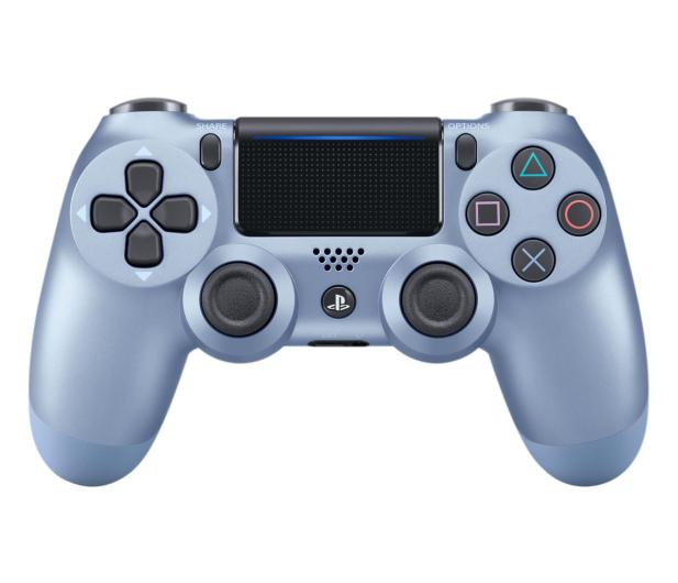 Sony PlayStation 4 DualShock 4 Titanium Blue V2 - 514254 - zdjęcie
