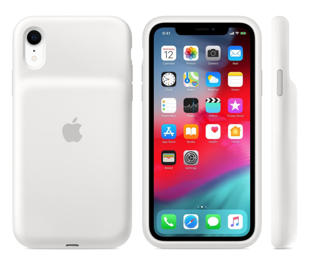 Apple Smart Battery Case do iPhone Xr biały - 514105 - zdjęcie