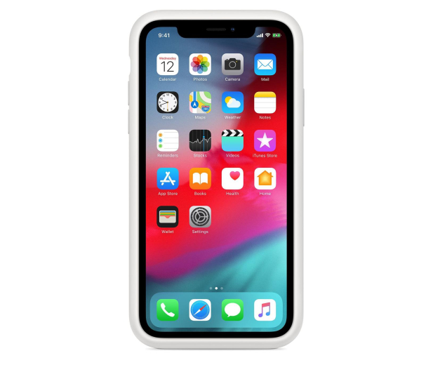 Apple Smart Battery Case do iPhone Xr biały - 514105 - zdjęcie 4