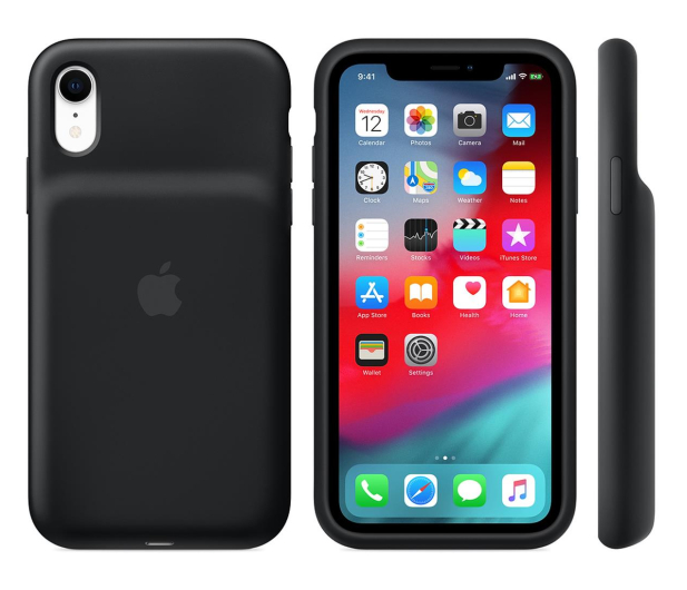 Apple Smart Battery Case do iPhone Xr czarny - 514106 - zdjęcie