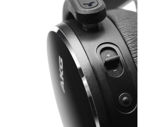 AKG Y500 Wireless Czarne - 514361 - zdjęcie 4