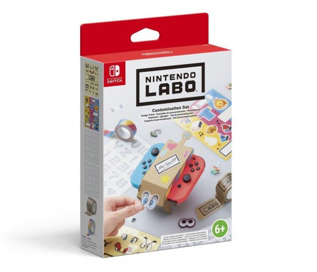Nintendo SWITCH Nintendo Labo Customisation Set - 426989 - zdjęcie