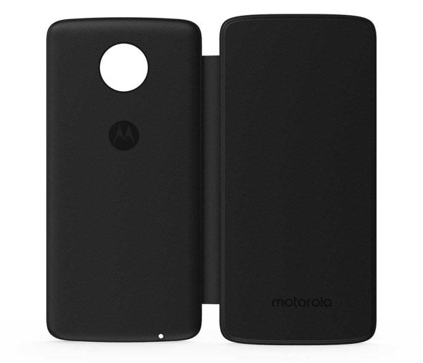 Motorola Etui z Klapką Moto Folio czarny  - 513465 - zdjęcie