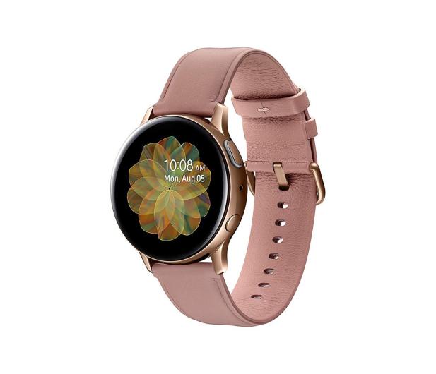 Samsung Galaxy Watch Active 2 Stal Nierdzewna 40mm Gold - 514533 - zdjęcie 3