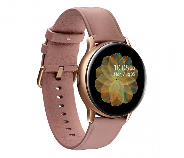 Samsung Galaxy Watch Active 2 Stal Nierdzewna 40mm Gold - 514533 - zdjęcie
