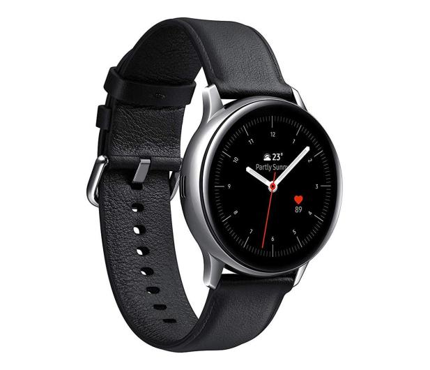 Samsung Galaxy Watch Active 2 Stal Nierdzewna 40mm Silver - 514536 - zdjęcie
