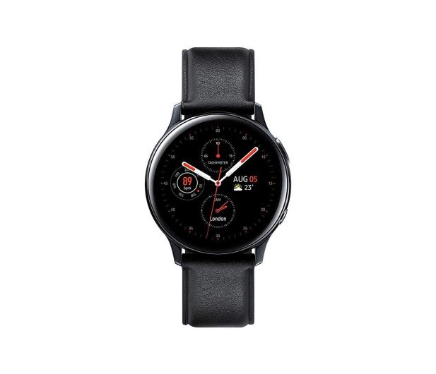 Samsung Galaxy Watch Active 2 Stal Nierdzewna 40mm Black - 514535 - zdjęcie 2