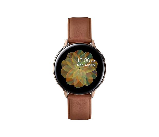 Samsung Galaxy Watch Active 2 Stal Nierdzewna 44 mm Gold - 514526 - zdjęcie 2