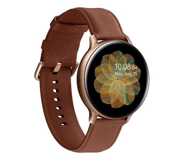 Samsung Galaxy Watch Active 2 Stal Nierdzewna 44 mm Gold - 514526 - zdjęcie