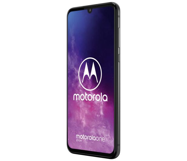 Motorola One Zoom 4/128GB DS Electric Gray + etui + 128GB - 515734 - zdjęcie 3