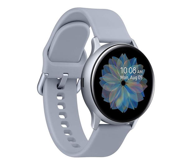 Samsung Galaxy Watch Active 2 Aluminium 40mm Silver - 514539 - zdjęcie 1