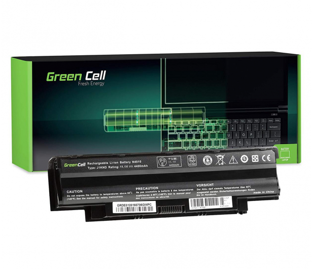 Green Cell Bateria do Dell Inspiron (4400 mAh, 11.1V, 10.8V) - 514581 - zdjęcie