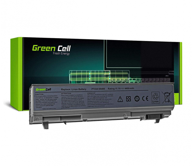 Green Cell Bateria do Dell Latitude (4400 mAh, 11.1V, 10.8V) - 514586 - zdjęcie