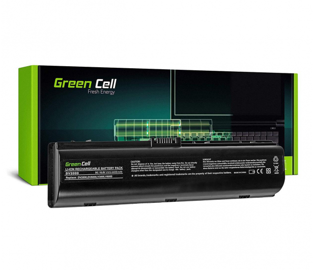 Green Cell Bateria do HP Pavilion (4400 mAh, 10.8V, 11.1V) - 514869 - zdjęcie