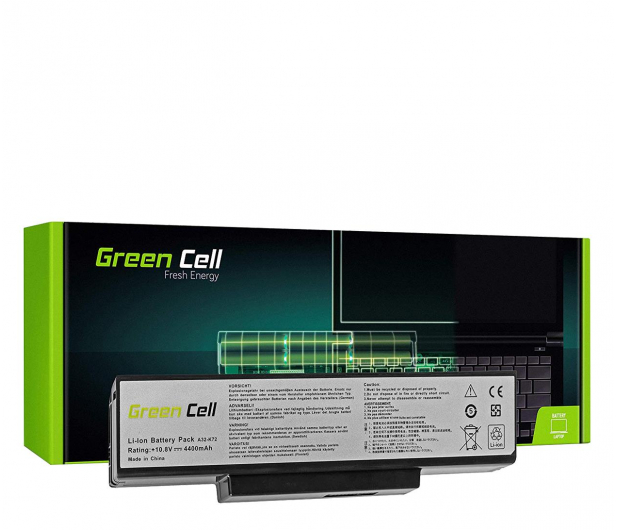 Green Cell Bateria do Asus (4400 mAh, 10.8V, 11.1V) - 514523 - zdjęcie