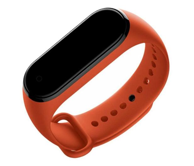 Xiaomi Opaska do Xiaomi Mi Band 3/4 pomarańczowy - 514423 - zdjęcie 2