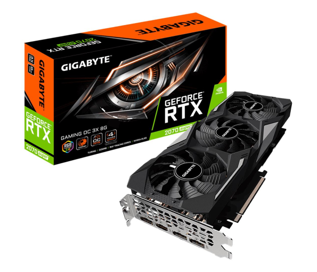 Gigabyte GeForce RTX 2070 SUPER GAMING OC 8GB GDDR6  - 514370 - zdjęcie