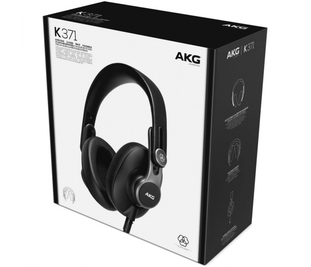 AKG K371 Czarne - 515102 - zdjęcie 5