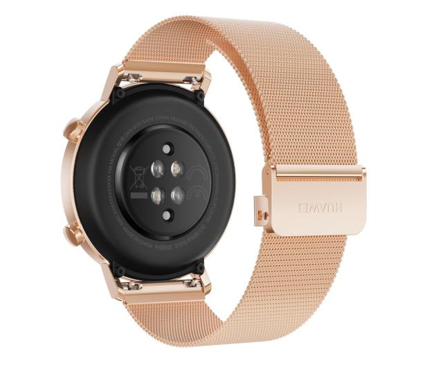 Huawei Watch GT 2 42mm złoty elegant  - 538111 - zdjęcie 4