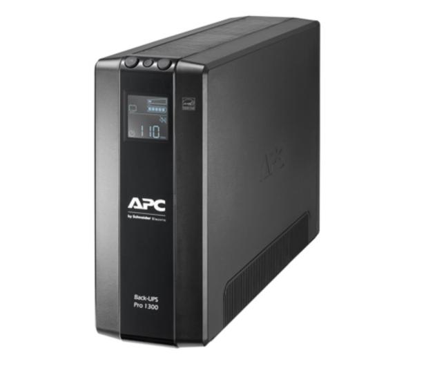 APC Back-UPS Pro (1300VA/780W, 8xIEC, RJ-45, AVR, LCD) - 520169 - zdjęcie