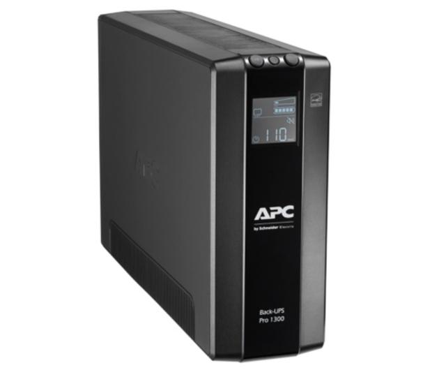 APC Back-UPS Pro (1300VA/780W, 8xIEC, RJ-45, AVR, LCD) - 520169 - zdjęcie 2