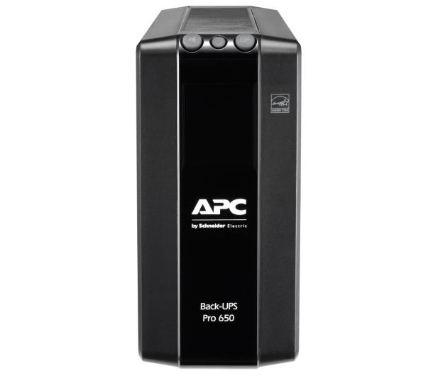 APC Back-UPS Pro (650VA/390W, 6xIEC, RJ-45, AVR, LCD) - 520166 - zdjęcie 2