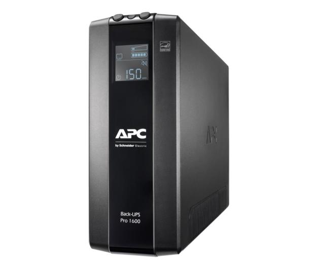 APC Back-UPS Pro (1600VA/960W, 8xIEC, RJ-45, AVR, LCD) - 520170 - zdjęcie
