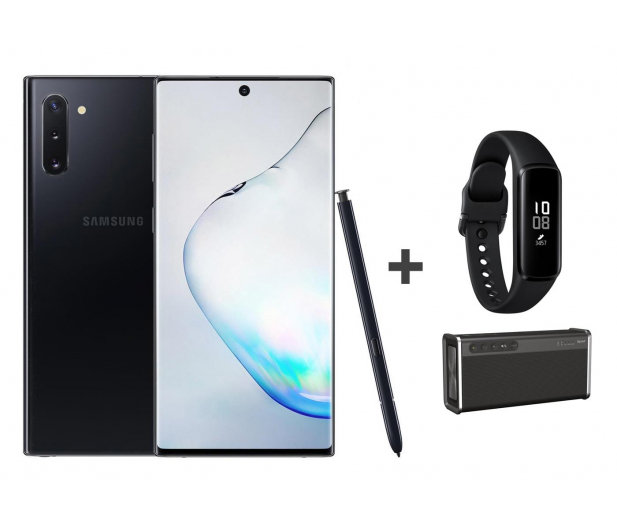 Samsung Galaxy Note 10 black + Creative iRoar Go + Fit e - 539432 - zdjęcie