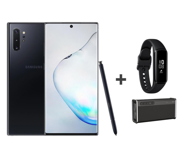 Samsung Galaxy Note 10+ black +Creative iRoar Go+ Fit e - 539463 - zdjęcie